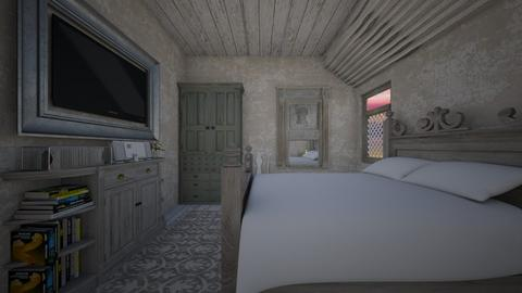 Shabby Chique - Bedroom - by daydreamer84