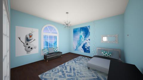Rosalyn - Bedroom - by Merryn Krenz