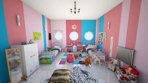 lovely - Feminine - Kids room - by Kechiq Slipperz