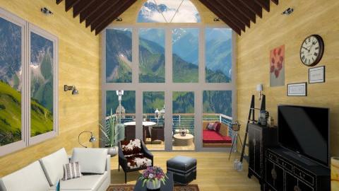 newbarn - Country - Living room - by Irida Niko
