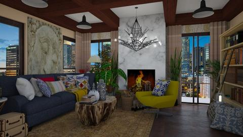 Maximalistic Living - Living room - by paluvica