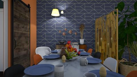 Retro Dining - Retro - Dining room - by _PeaceLady_