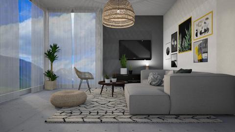 1659 - Living room - by Riki Bahar Elbaz