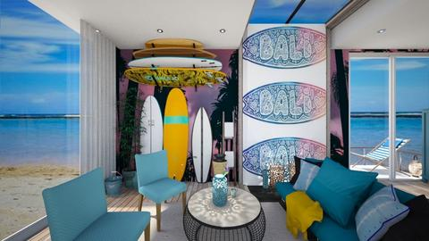 surf living - Living room - by Gena1310