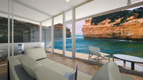 oceania - Retro - Living room - by annabu