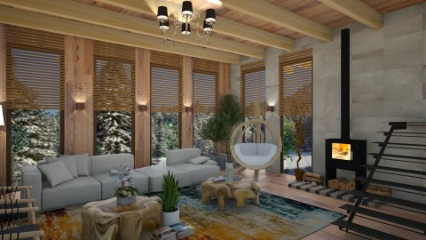 2722017 - Classic - Living room - by matina1976