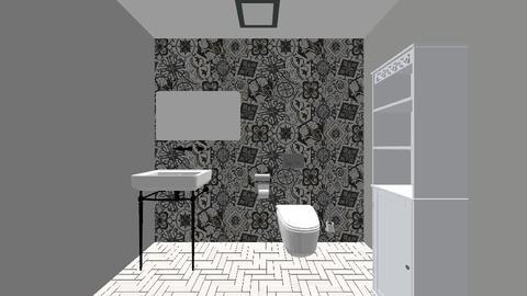 Powder Room  - Classic - Bathroom - by jaiden2006