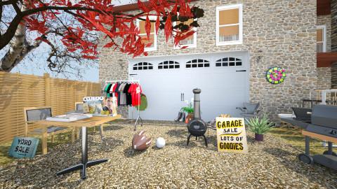 garage sale 3 - Modern - Garden - by sometimes i am here