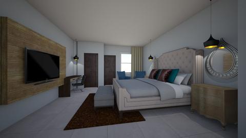 ken masters - Bedroom - by jfx