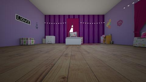 jordan - Bedroom - by jesspeters