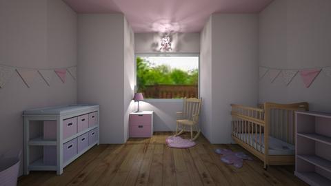 Pink nursery - Kids room - by Lily_Najimy