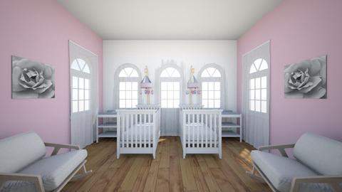 Twin Girls Nursery - Classic - Kids room - by WPM0825