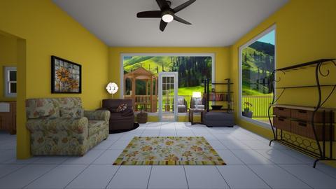 Sunroom - Living room - by husky2