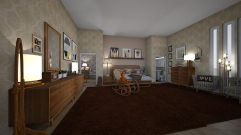 mid century mod - Bedroom - by hillygabe