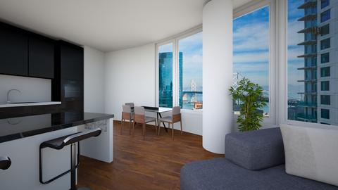 SectLCntr - Living room - by evakarwowska