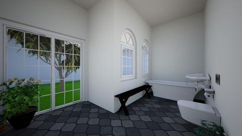 Urban jungle bathroom - Modern - Bathroom - by Boba Boba Teaaaaaaa