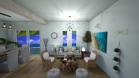 BEACH HOUSE 1 - Living room - by kenmccoy