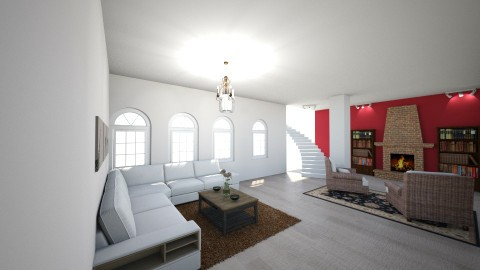 rustic new york  - Classic - Living room - by abby05_lom