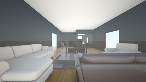 living room and bar yo - Minimal - by ethan    and bray