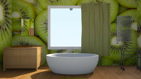 Kiwi Bathroom - Bathroom - by siscauw