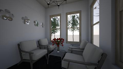 simple house  - Modern - Living room - by Brina Yunio