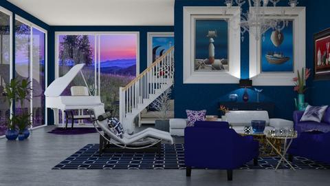 blue piano - by nat mi