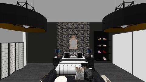 Gotham - Bedroom - by EllaNaznin