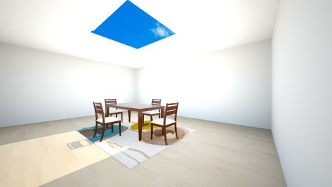sky - Dining room - by yusraq1113