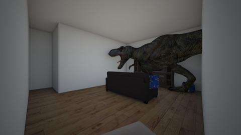 T Rex - Living room - by Tigerstar101