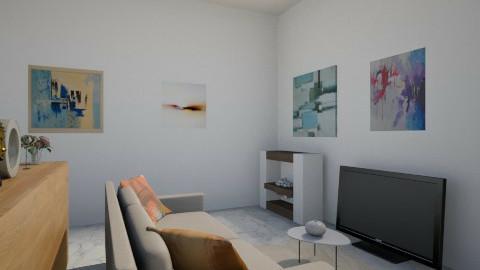 Modern TV Room - Modern - by ash14