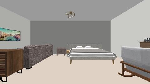 huis - Bedroom - by hannelise