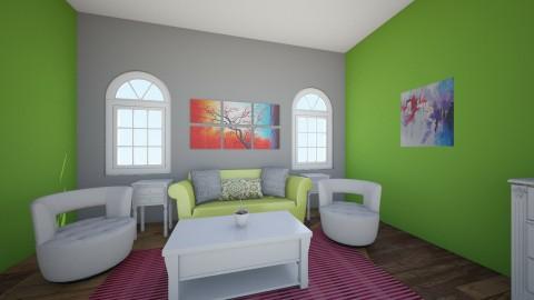Kylenes Apartment - Bedroom - by Lauren432