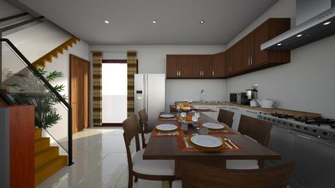 Huong Binh Kitchen - Kitchen - by janineja