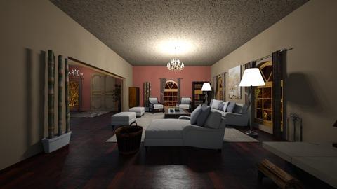 Design 17 MACHADO FARM - Rustic - Living room - by michellitamuralles
