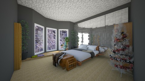 Bedroom1 - Bedroom - by Fuzzy Squirrel
