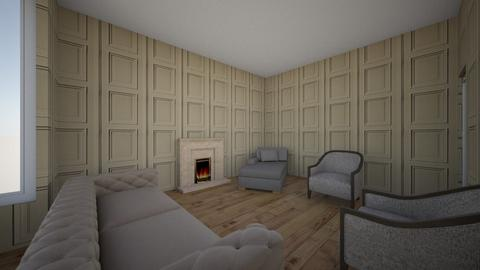 london new house  - Living room - by zozan