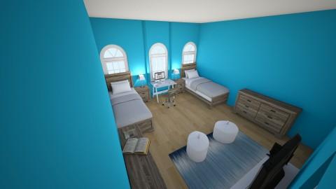 Twin boys bedroom - Bedroom - by Zy121405