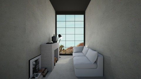 Casa127 - Minimal - Living room - by nickynunes