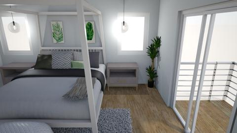 beach house - Bedroom - by Mackenzie Kem