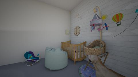 olivers room  - Classic - Kids room - by doodle2000