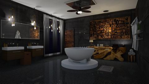 Cosy bath - Bathroom - by Jade Blt