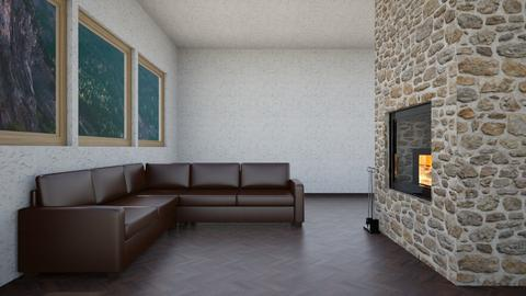 mountain view - Minimal - Living room - by abby_o