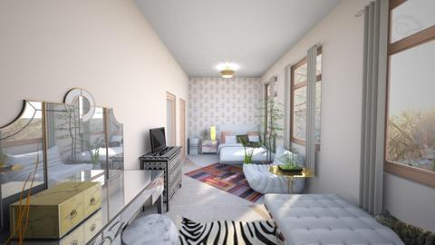 pink eclectic 8 - Bedroom - by abby_o