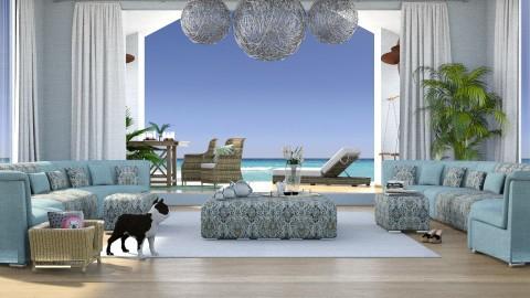 Bluebay - Living room - by meggle