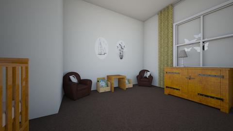 baby room Jarvis - Kids room - by jarvisb