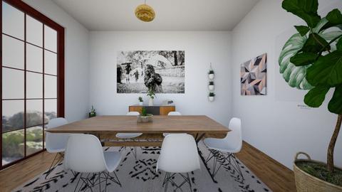 d i n i n g   r o o m  - Minimal - Dining room - by LightLuzLux