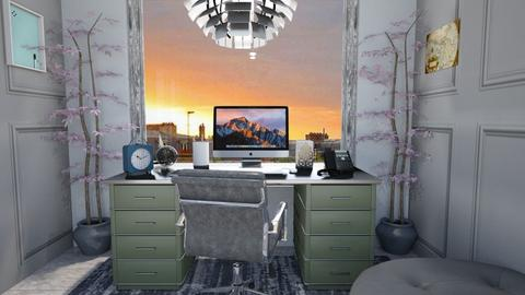 little home office - Classic - Office - by zayneb_17