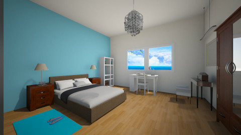 cris´room - Bedroom - by tinin