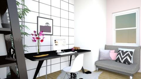 Werkplek - Living room - by Simonexx
