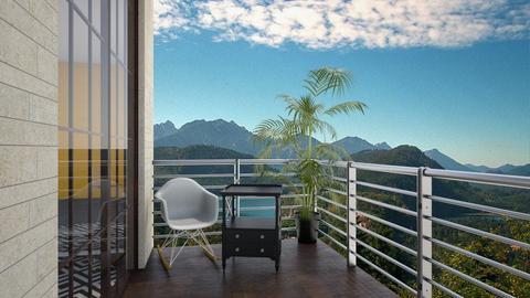 balkon - Garden - by BWiktoriaa